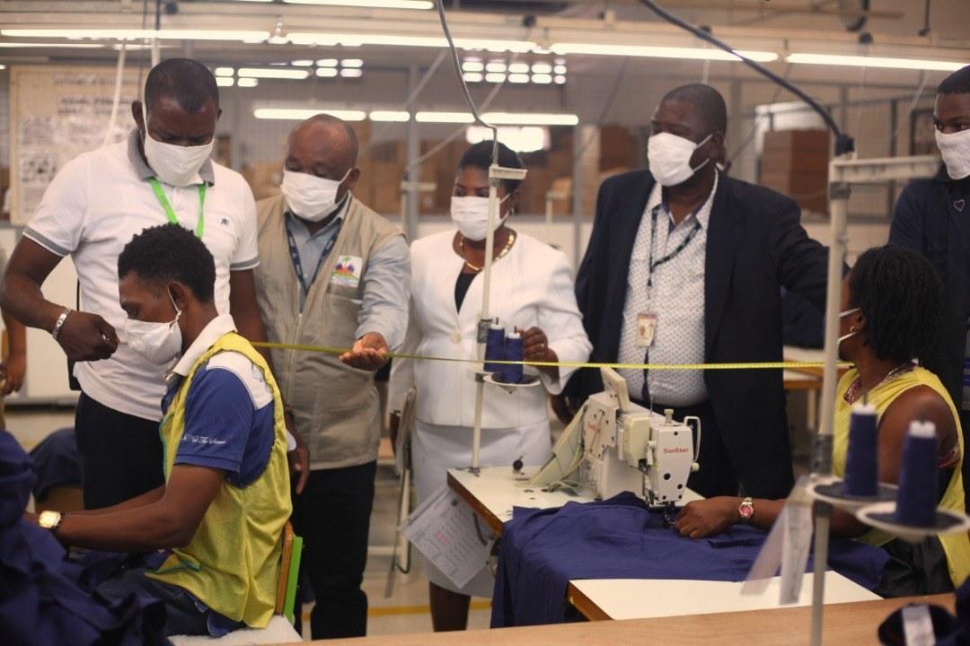 Covid-19: le MAST exerce un contrôle strict dans les usines textiles