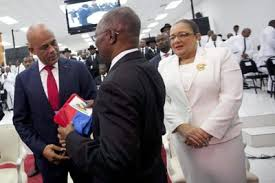 Haiti's president departs to make way for interim government ...