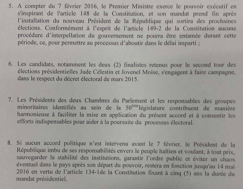 Martelly refuse