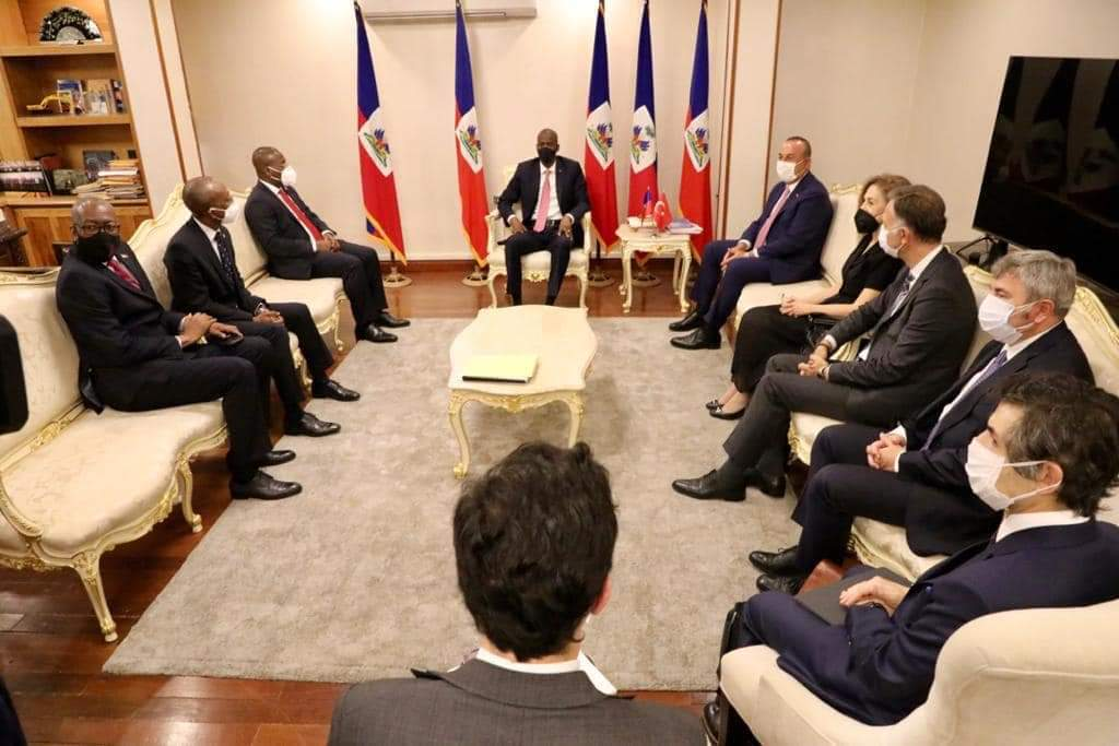 Signature de sept accords et protocoles d'accord entre Haïti et la Turquie