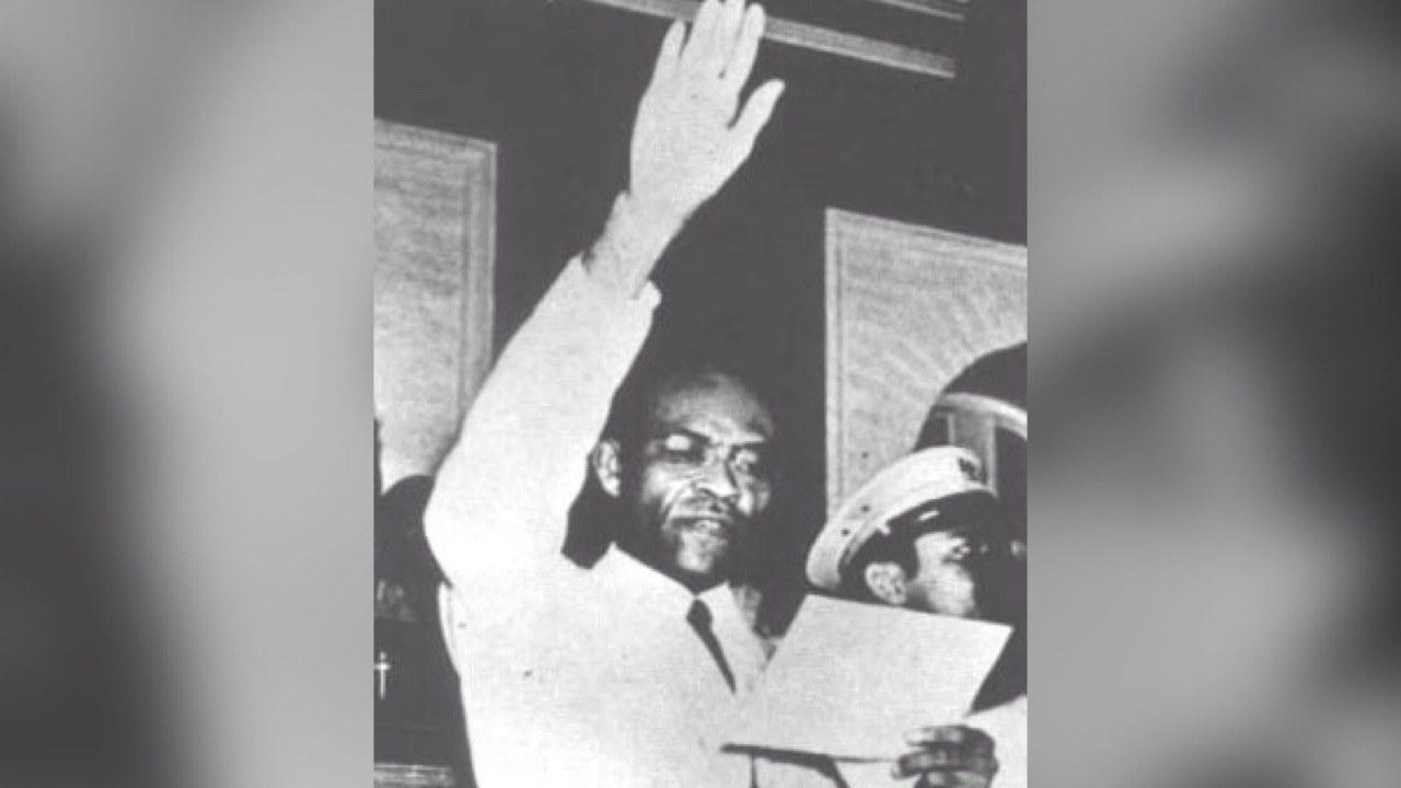 16 Aout 1946. Election de Dumarsais Estimé par l'Assemblée Nationale